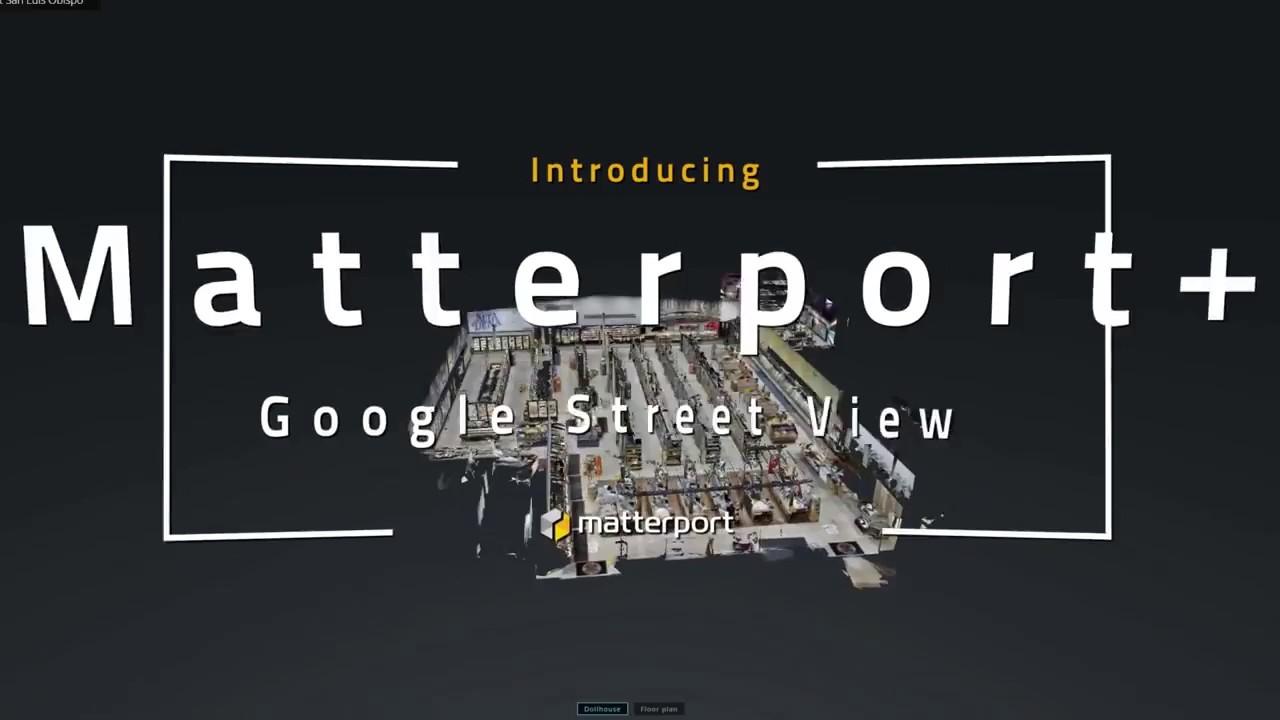 google streetview matterport