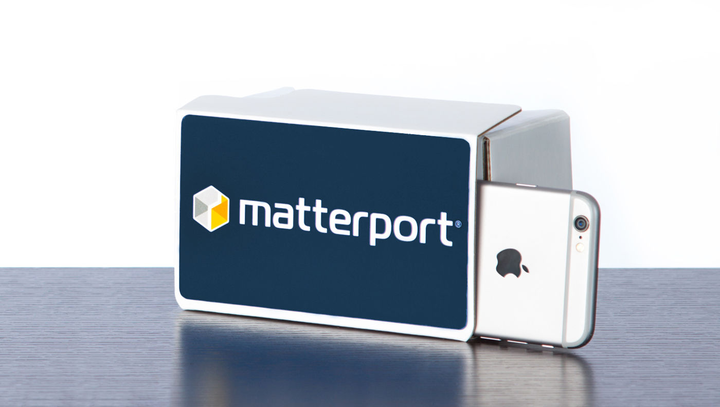 matterport VR cardboard