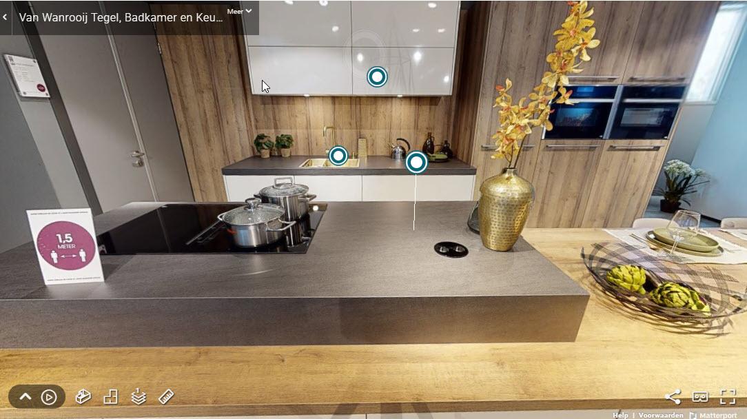 virtuele tour showroom